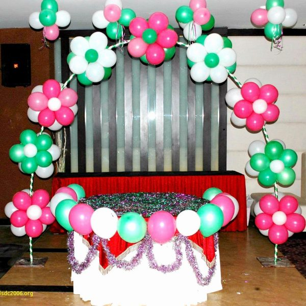 simple birthday decoration at home Luxury 50 Best Collection Simple Balloon Decoration Ideas at Home